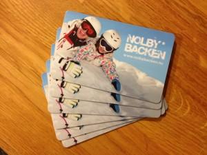 Nya SkiPass med vår profilbild - visa vilken backe du tycker är bäst i Sundsvall.