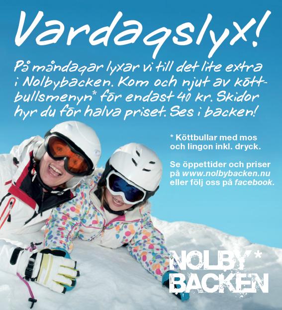 Nolbybacken - Vardagslyx